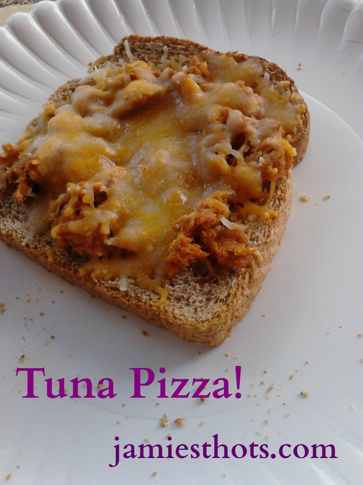 BBQ Tuna Pizza-a childhood recipe that I still love (updated)