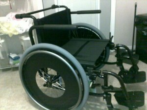 My new Quickie 2 HD wheelchair