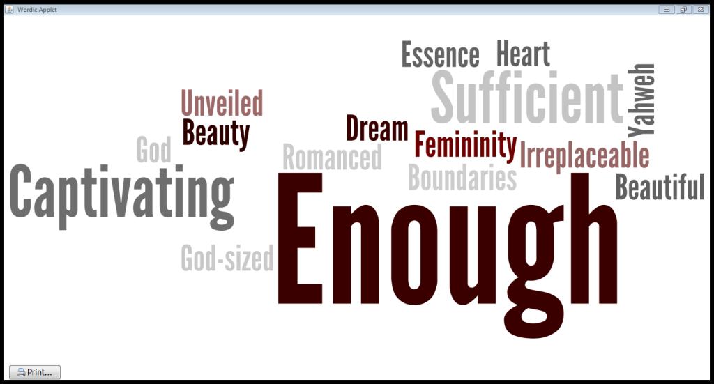 Enough Wordle 1