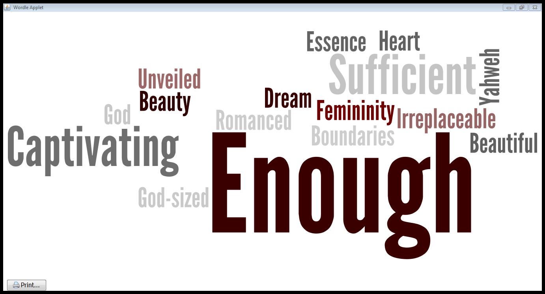 January: Made enough