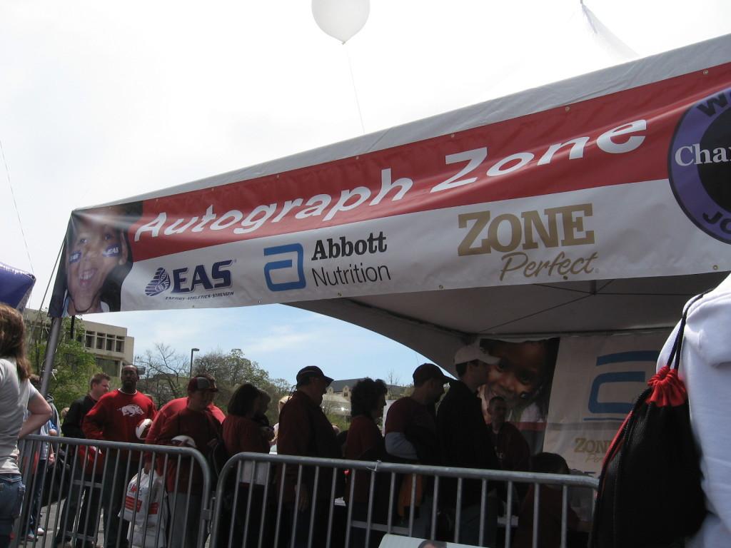 Autograph Zone Razorfest