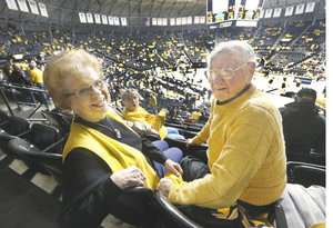 My grandma B and grandpa Carl (photo from Wichita Eagle)
