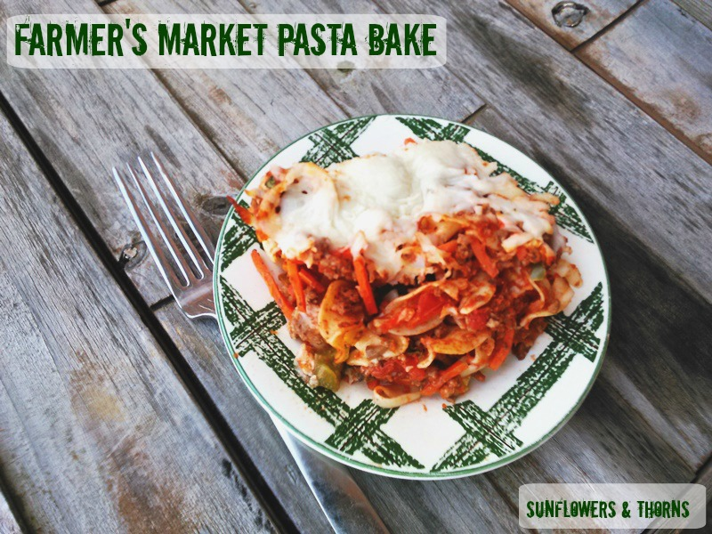 Farmers Market Pasta Bake (recipe updated)