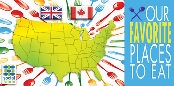 Our favorite places to eat, part 1: a blog hop!