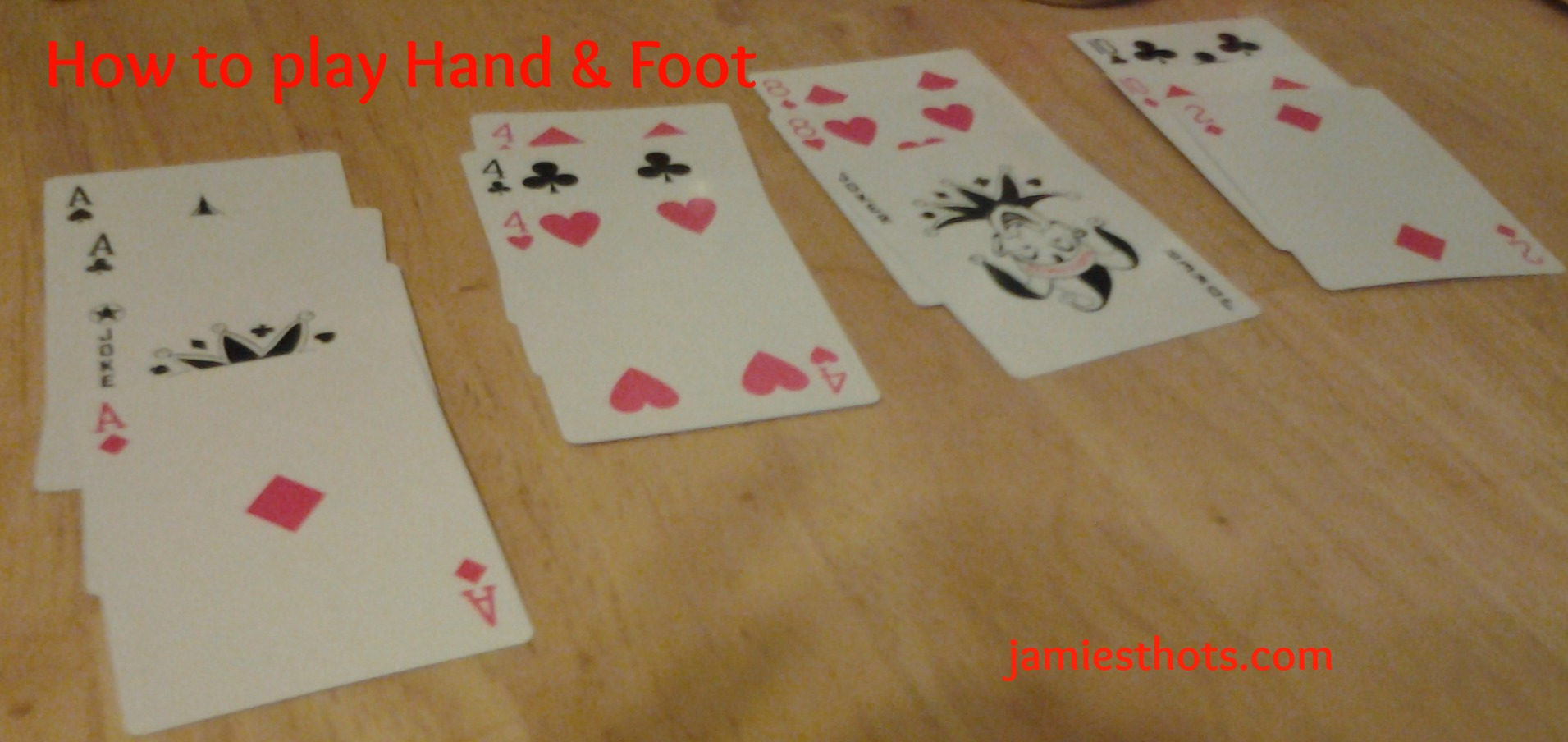 Smith 'house rules' for the best card game ever (Hand & Foot ...