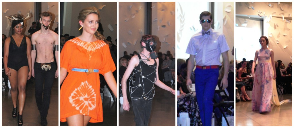 The designs we saw at NWAFW ranged from items I wish I could wear to definitely on the …artistic side that would convey a message but also raise a few eyebrows if worn around town.