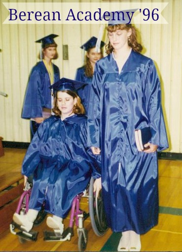 Me at high school graduation in 1996. I promise I was awake! It was not too long after this I got a cell phone that was for emergency purposes only.