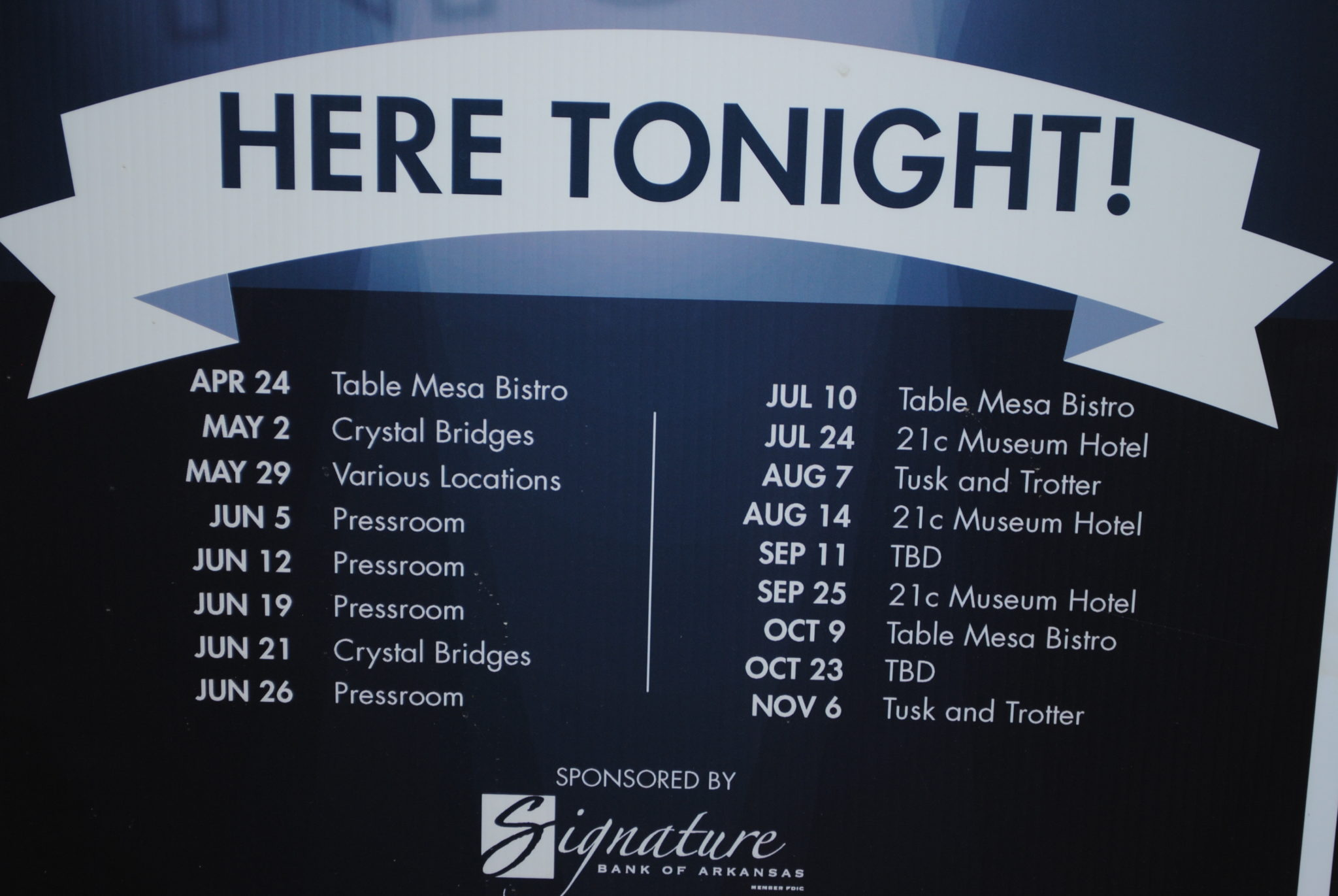 Notes at Night: Downtown Bentonville's Thursday nights filled with music