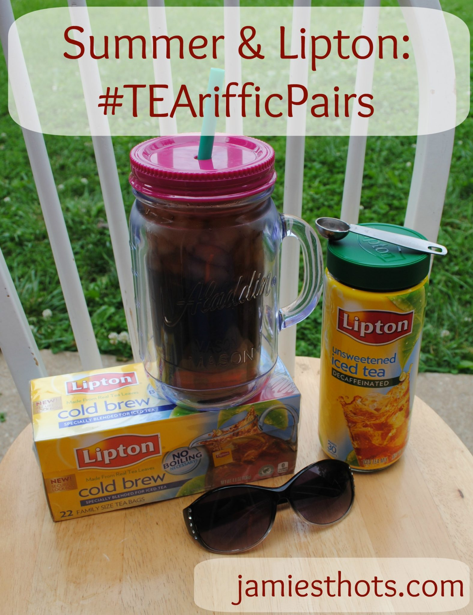 Some cool summer fun made even better with Lipton tea