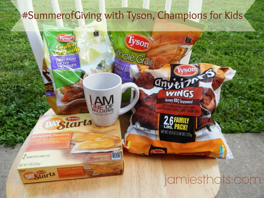 #ad End hunger for kids through Walmart, Tyson and Champions for Kids #SummerofGiving