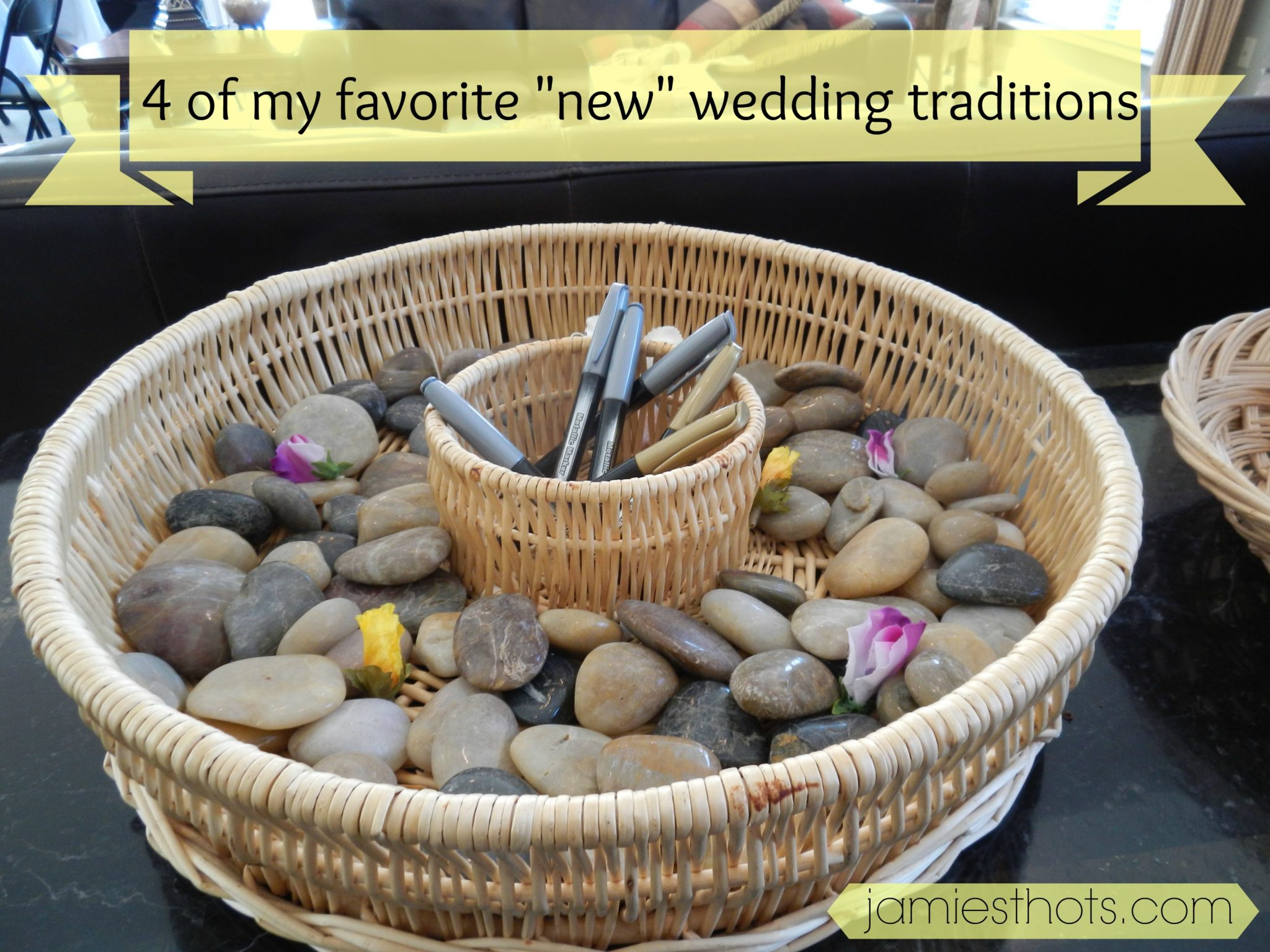 Four new wedding tradition ideas that I love