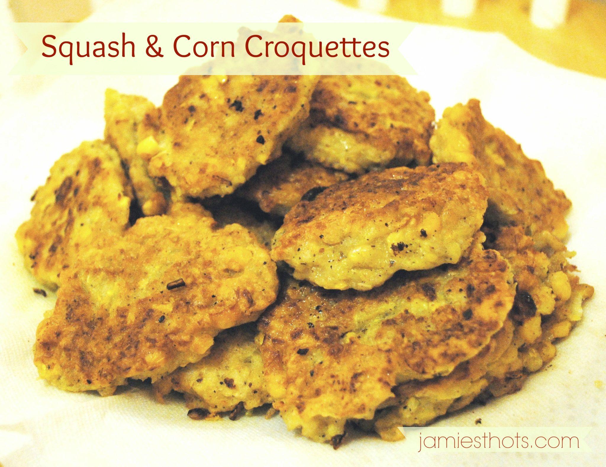 Pin & Spin: Making our squash croquette recipe a bit corny