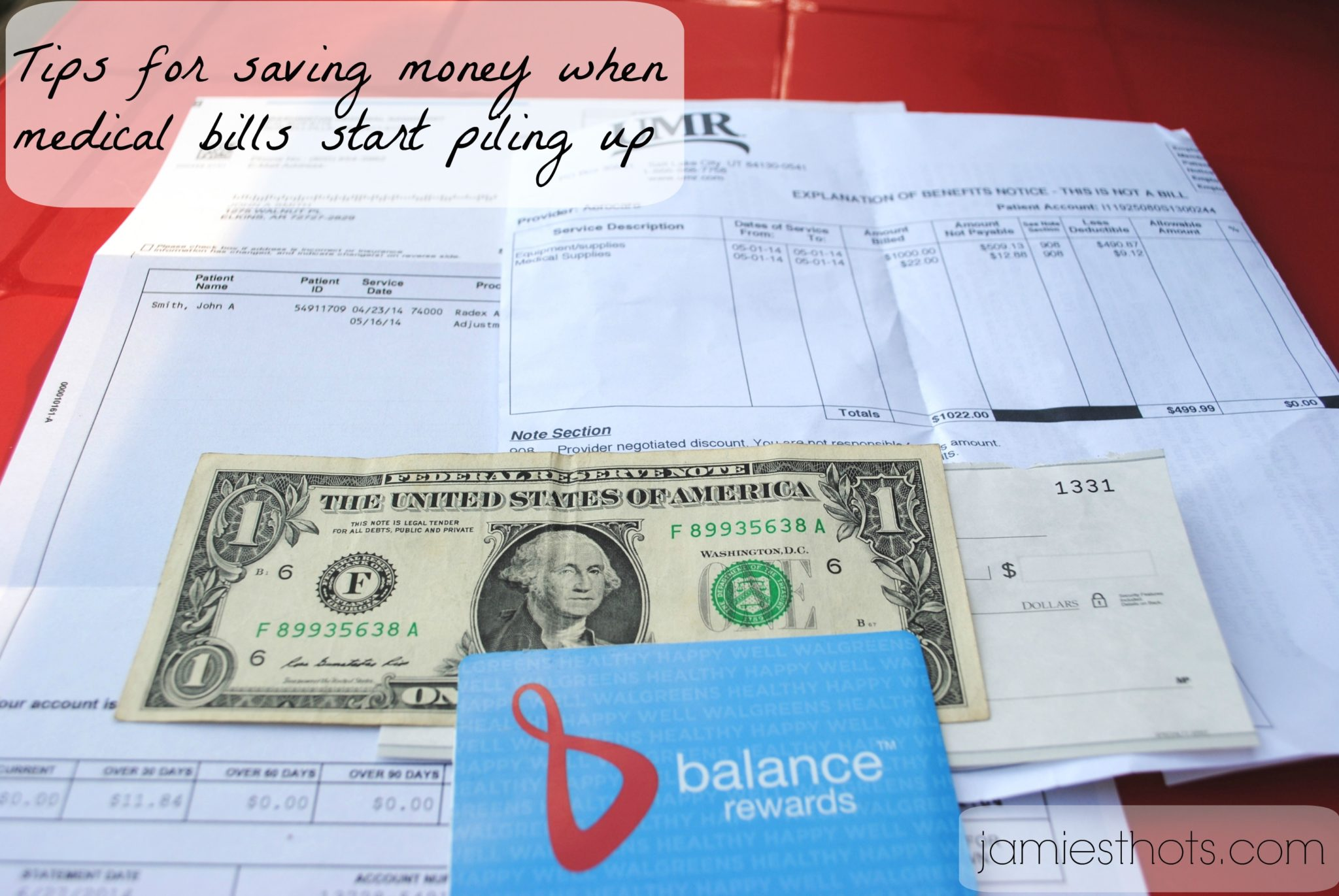How we save money when medical bills start piling up (including paperless coupons)