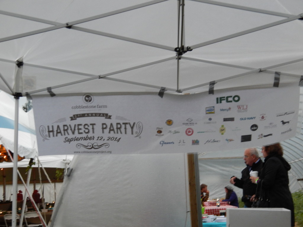 CSP Harvest sign