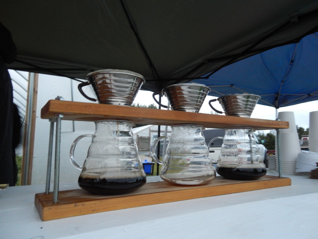 Airship Coffee was one of the sponsors and I loved their demonstrations of the pour over method.
