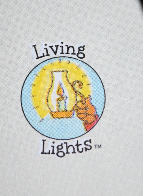 These books are part of the Living Lights miniseries, created especially for Zondervan.