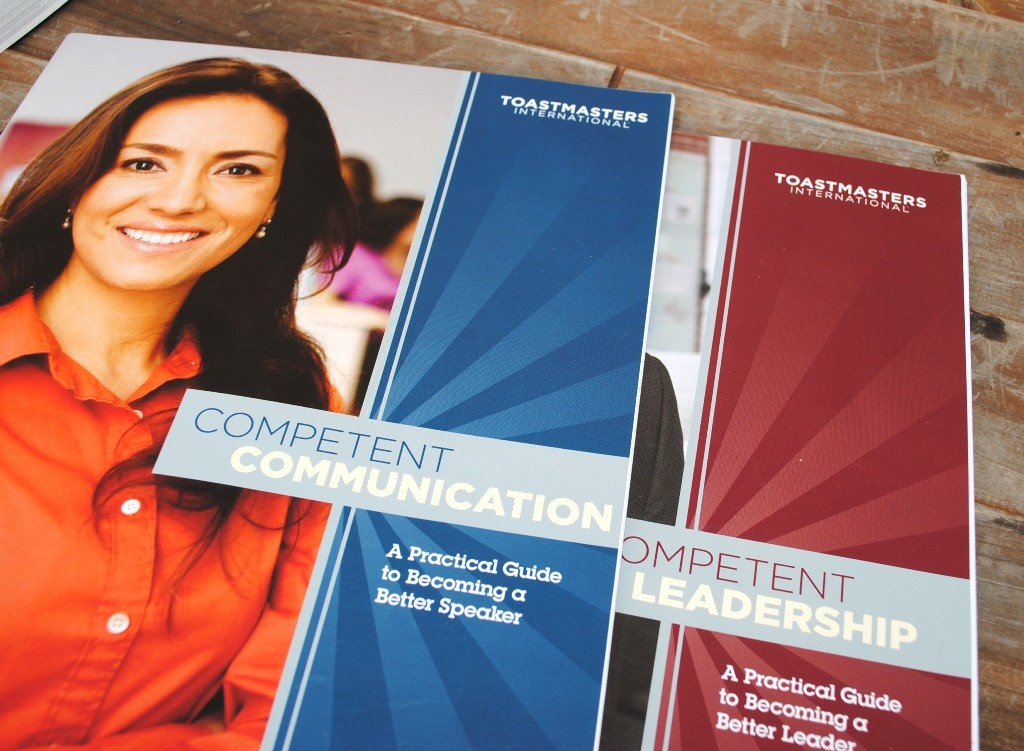 Toastmasters has two beginner manuals. I joined to learn stronger communications and leadership skills.