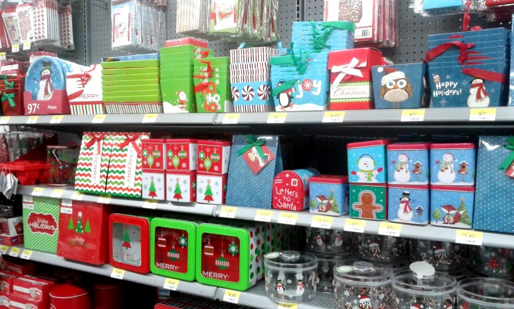 You can use the Planters Holiday Collection Tin or purchase a variety of gift boxes at Walmart when you pick up the nuts and other ingredients.