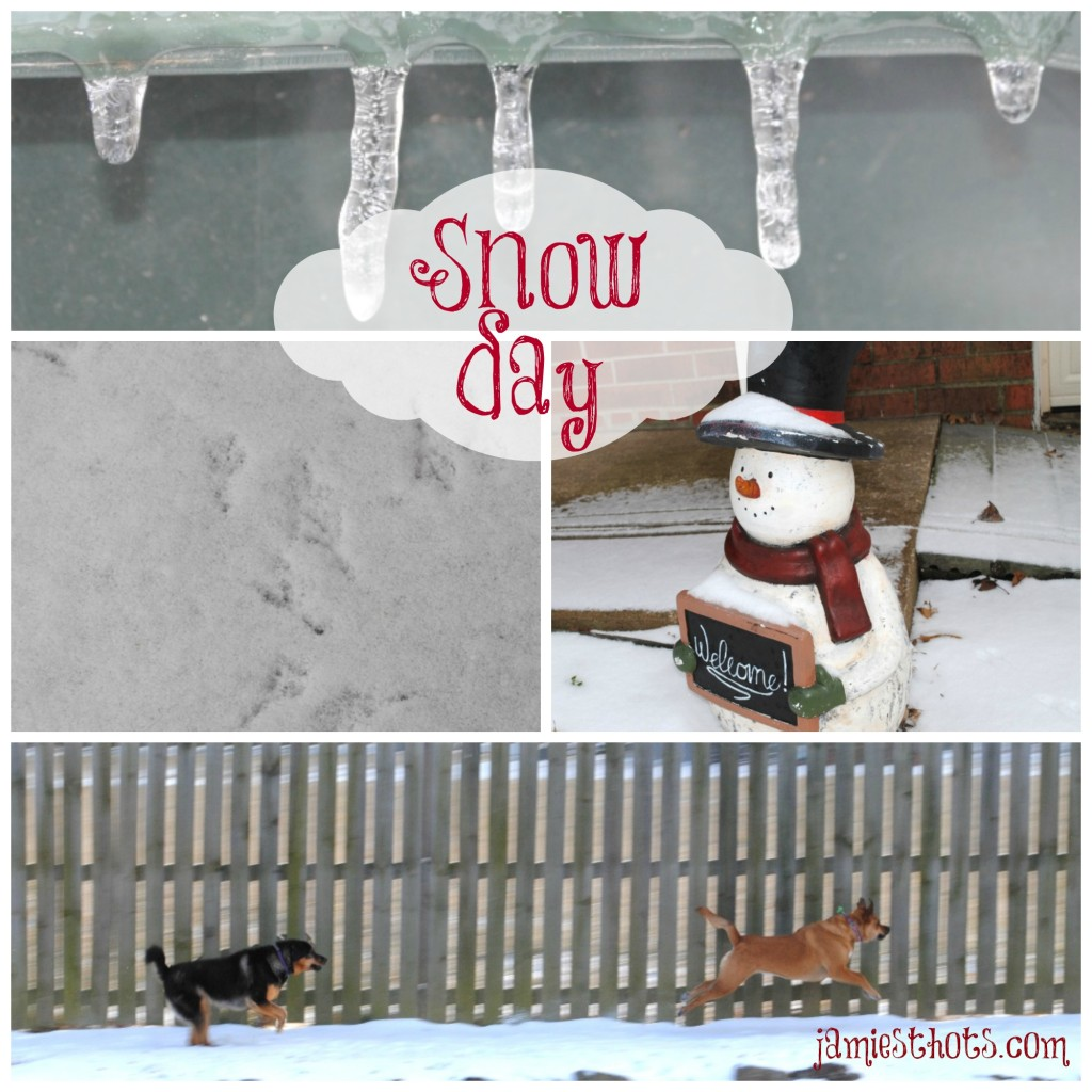 Snow Day collage