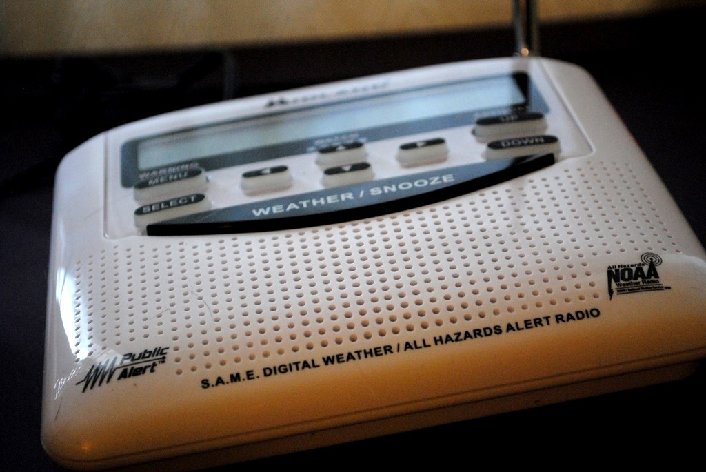 Having a weather alert radio gives me peace of mind knowing that I will be alerted to impending bad weather. And guess what? It runs on either electric or AA batteries. Another use for those EcoAdvanced Energizer batteries.