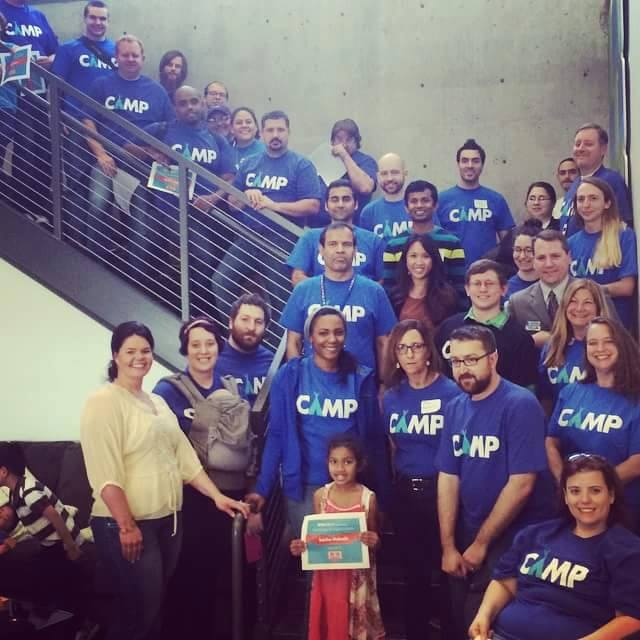 The group of GiveCamp NWA 2015 volunteers.