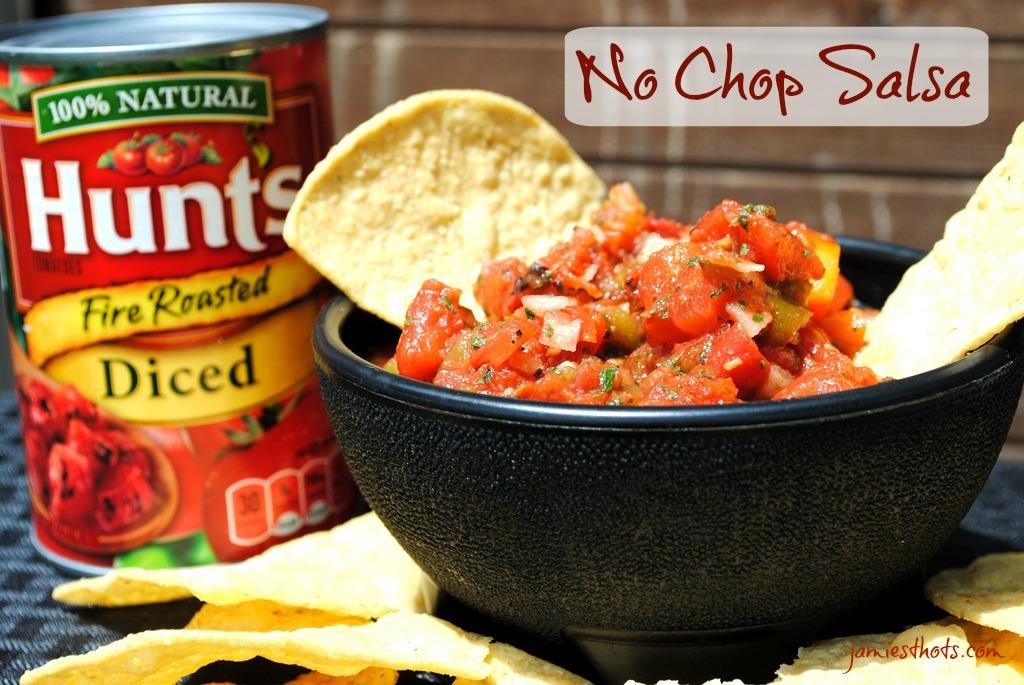 No Chop Salsa
