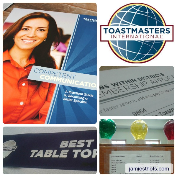Toastmasters collage