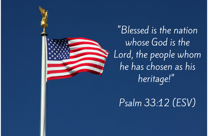 -Blessed is the nation whose God is the