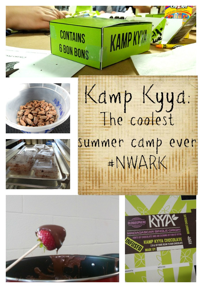 Kamp Kyya from Kyya Chocolate in Elm Springs, AR is the coolest summer camp ever.