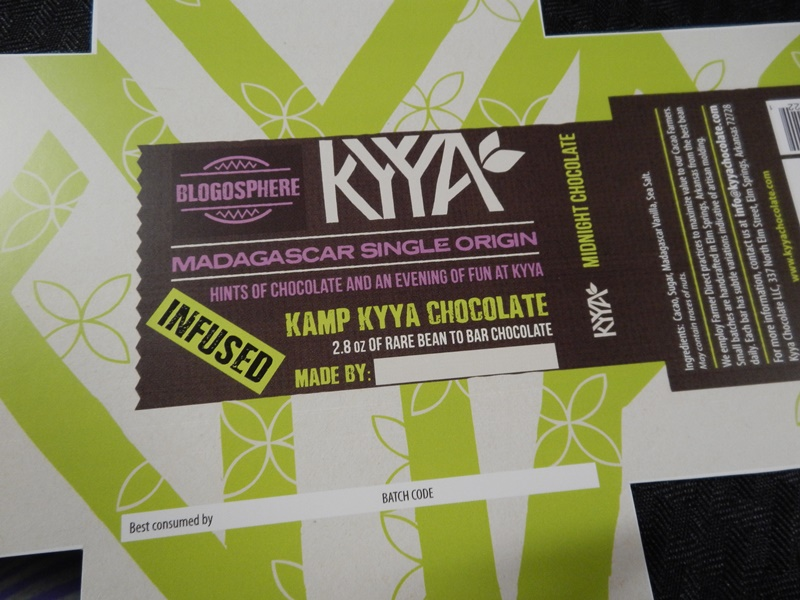 Kyya made customized packages for the blogger event. They made customized packages for Kamp Kyya as well.