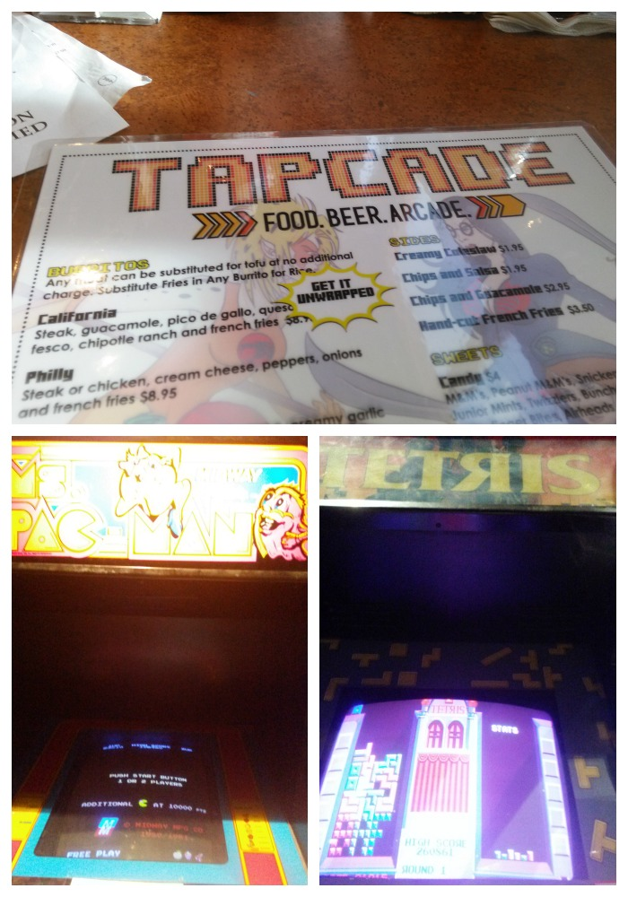 One of my favorite places was Tapcade, where we had the Saturday night social. Delicious quesadilla and they had retro video games throughout the entire place. We got all you can play bands for $2 (special price for our group). I got a big kick out of playing Ms. PacMan and Tetris!