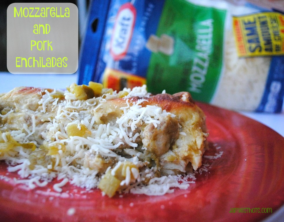 #NaturallyCheesy Pork Enchiladas that don't require a slow cooker!