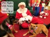 The #Smithpuppies visit Santa at Northwest Arkansas Mall