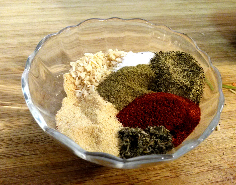 The spice rub blend is filled with flavor!