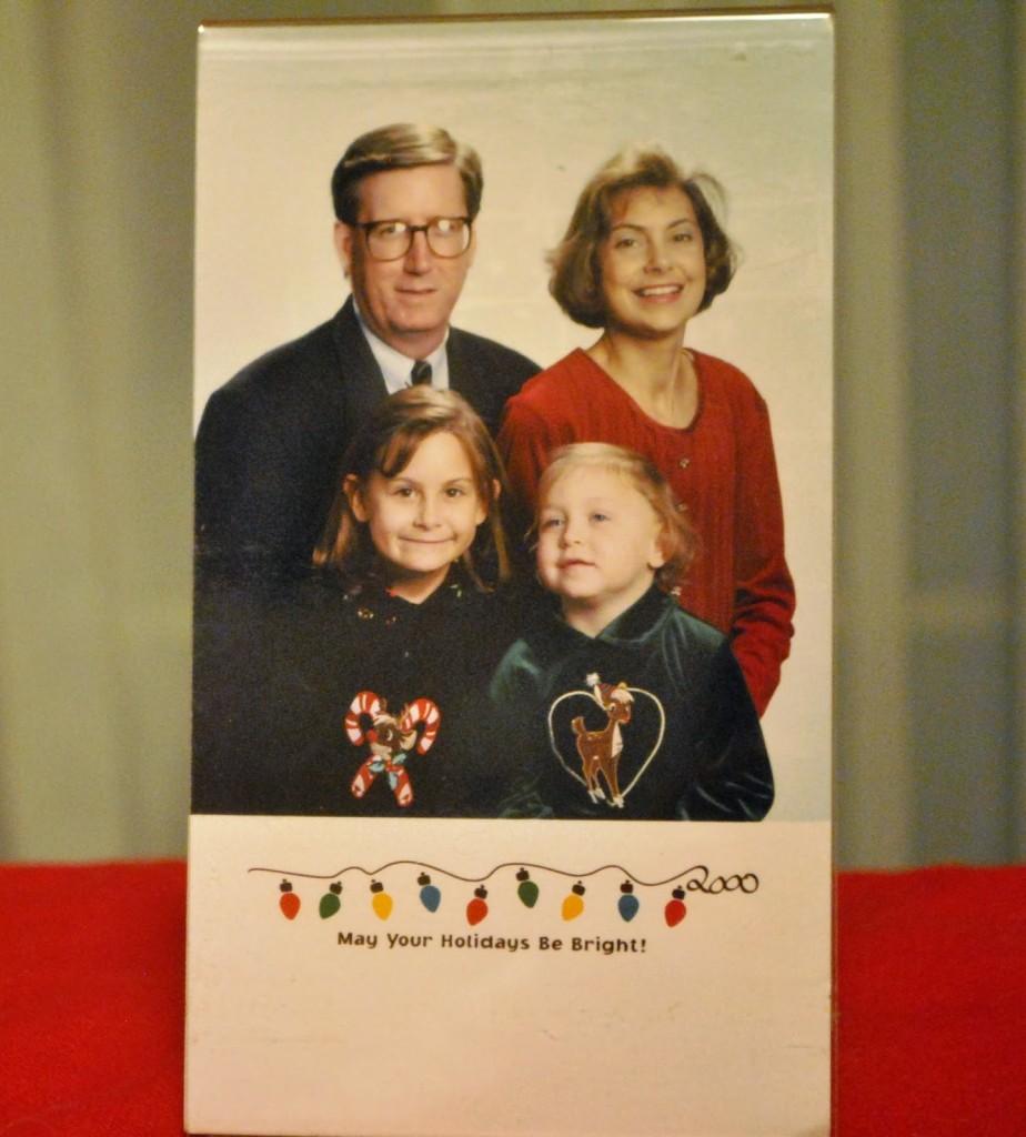 2000 Christmas photo