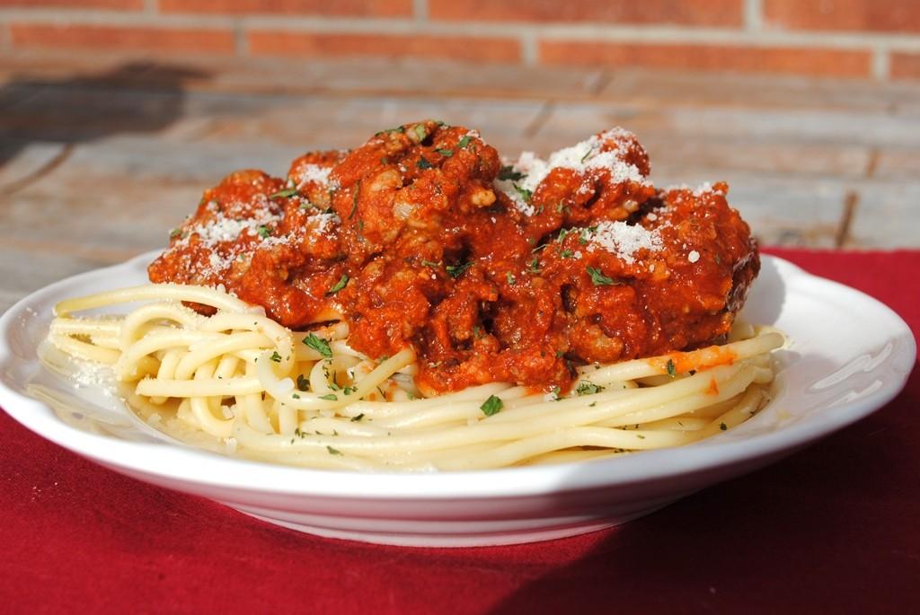 Beef Sausage Fire Roasted Basil Spaghetti