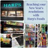Reaching your New Year's resolutions with Harp's Foods