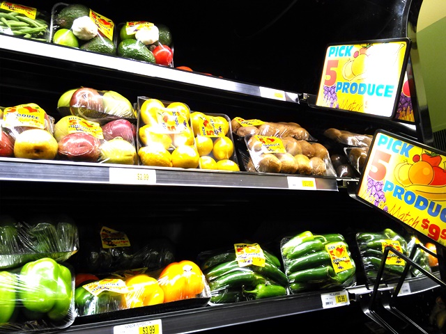 We sometimes use the 5/9.99 produce feature, especially in the summer.