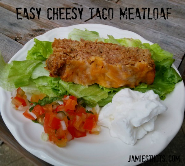 Easy Cheesy Taco Meatloaf