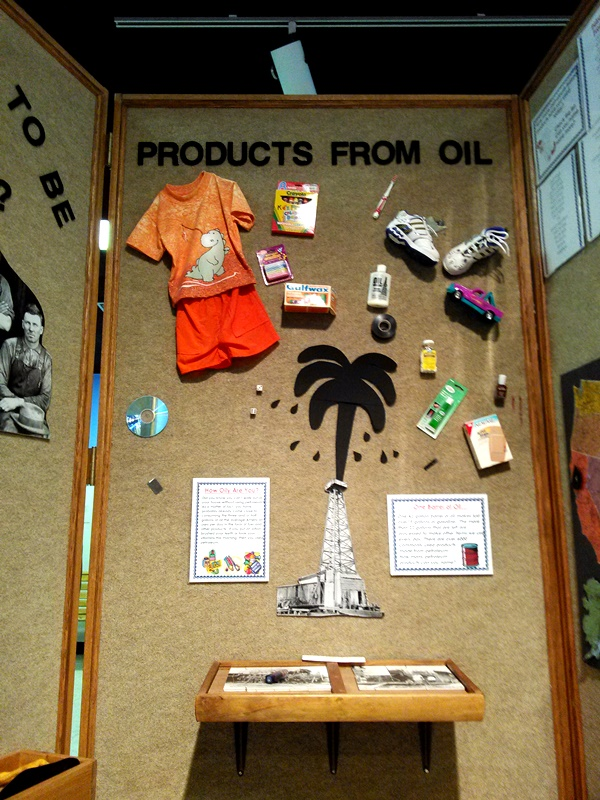 Did you know that all these products are available because of the oil industry? It's not just gasoline, folks.
