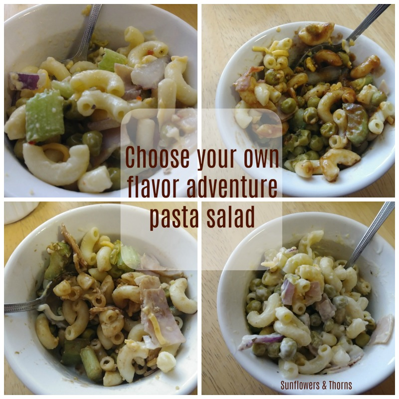 'Choose your own adventure' Pasta Salad (recipe)