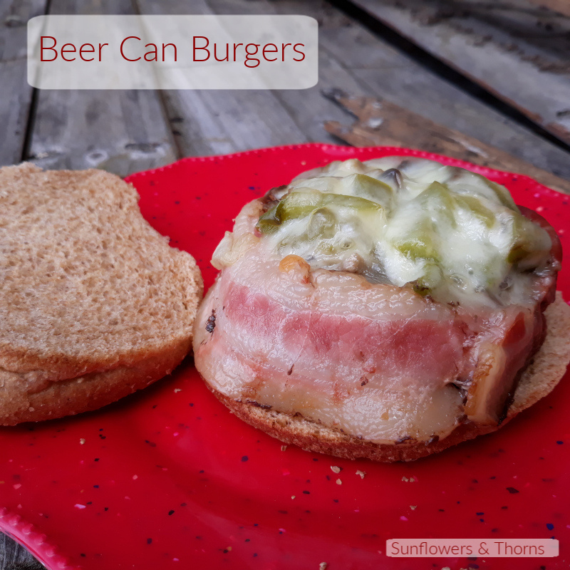 Beer Can Burgers recipe